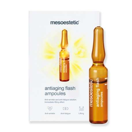 Ampoules Antiaging Flash Mesoestetic