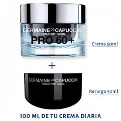 Pack Eco-Refill Pro 60+ SRNS Germaine de Capuccini 1 CocoCrem