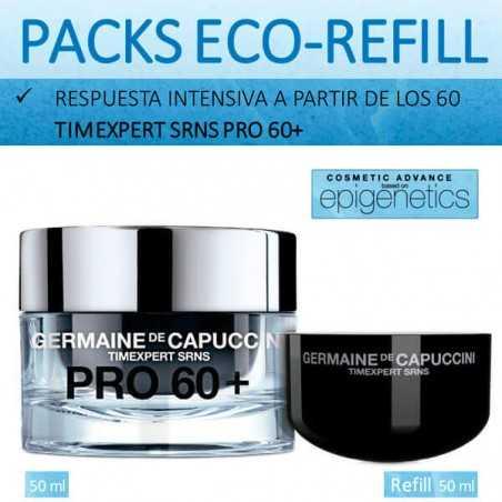 Pack Eco-Refill Pro 60+ SRNS Germaine de Capuccini 2 CocoCrem