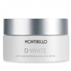 Anti-age Whitening Emulsion SPF20 D-White Montibello CocoCrem