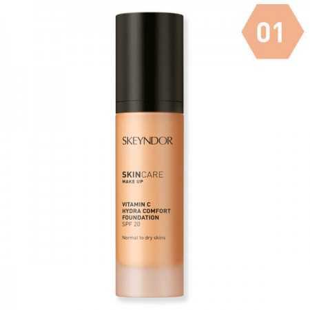 Maquillaje Hidratante 01 SPF20 Skeyndor CocoCrem