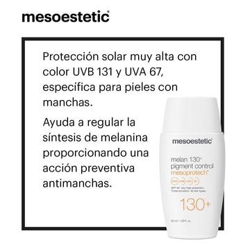 PROTECCIÓN SOLAR PANTALLA TOTAL ➡️ Mesoprotech Melan 130+ Pigment Control Mesoestetic: Crema solar con color. Fotoprotector específico para pieles con manchas. Ofrece una muy alta protección solar UVB 131 y UVA 67, y contiene un activo despigmentante que ayuda a regular la síntesis de melanina, reforzando así la acción preventiva antimanchas. Además, su textura con color aporta un tono natural y atenúa las imperfecciones.  Más info en☎️ 663283290 también atendemos por WhatsApp   🚚 Envíos GRATUITOS a partir de 35 euros  🏦Financiación de tus compras   ✈️ Recíbelo en tu casa en 24/48 h  ☎️ Asesoramiento personalizado y GRATUITO   🎁 Muestras de regalo en todos los pedidos. www.cococrem.es #cococrem #mesoestetic #melan #cosmelan #dermamelan #guapas #solares #belleza