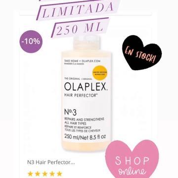 OLAPLEX N.3 Hair Perfector de 250ml 😍 ❤️❤️EDICIÓN LIMITADA. Hasta fin de existencias!! ENVÍOS DESDE 24/48 HORAS www.cococrem.es #olaplex #n1 #n1yn2 #belleza #cosmetica #altacosmetica #centromedico #lifting #estetica #centrobelleza #repair #cabello #hidratacion #aceiteargan #champú #tratamientoolaplex #mascarillacapilar #proteccióncabello #moroccanoil #aceiteargan #champumoroccanoil #mascarillaMoroccanoil #MoroccanoilOnline #productosMoroccanoil #tiendaOnline #reparación #productosmoroccanoil #proteccióncabello  Más info en☎️ 663283290 también por wasap o emil ✍️al info@cococrem.es