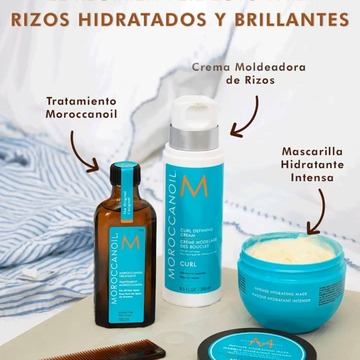 Cuando se trata de cuidar los rizos ➿ la hidratación y el control del encrespamiento son esenciales!!!  Encuentra todos los productos esenciales para tus rizos en nuestra página web 👉 www.cococrem.es  Más info por WhatsApp en el 663283290 #cococrem  #tratamientoMoroccanoil  #moroccanoil  #aceiteargan #moroccanoiltreatment  #cabellosano #rizos #curlyhair